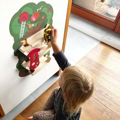 Oribels VertiPlay range of wall toys transforms plain walls into an interactive experience. Its easy to peel and stick these wall toys on any smooth wall. You cannot go wrong with this best-selling wooden ramp toy. Whether youre buying as a gift or for your own little one, this is a definite winner!
