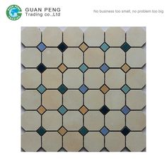 Check out this product on Alibaba.com APP Bedroom And Living Room Porcelain Modern Mosaic Floor Pattern Moroccan Octagon Shaped Mosaic Tiles