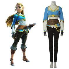 The+Legend+of+Zelda:Breath+of+the+Wild+Custom+Made+Princess+Zelda+Costume+Cosplay