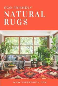 """This weekend only! For a limited time get 15% OFF plus our entire rug collection plus free shipping. Use code: """"15FORGOOD"""". Help save the planet with every purchase. Natural Area Rugs, Natural Rug, Save The Planet, Planets, Eco Friendly, Sweet Home, Rustic, Free Shipping, Collection"""