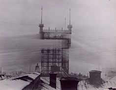 From 1887 – 1913 this incredible Telephone Tower served as one of the main telephone junctions in Stockholm, Sweden. About 5000 telephone li...