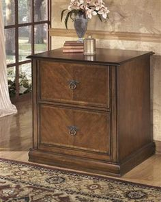Hamlyn Medium Brown Wood Lateral File Cabinet