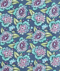Tula Pink Astraea Sky Fabric | onlinefabricstore.net