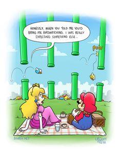Flappy Bird Watching by TheBourgyman on deviantART (Mario x Flappy Bird)