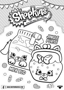 made by a princess shopkins coloring pages season 4 petkins jingle purse milk bud