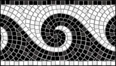 Mosaic stencils from The Stencil Library. Buy from our range of Mosaic stencils online. Page 1 of our Mosaic border stencil catalogue. Tile Crafts, Mosaic Crafts, Mosaic Projects, Mosaic Diy, Mosaic Garden, Mosaic Tiles, Mosaic Designs, Stencil Designs, Stained Glass Patterns