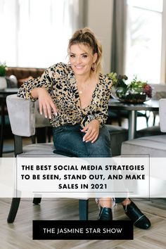 In this episode you will learn: The 3 social media platforms I recommend if you want the quickest growth in 2021 Proven strategies for each of these three platforms What to do if you're feeling overwhelmed with creating content for social this year My team's repurposing strategy to make ALL of your social media platforms work together Small Business Marketing, Business Branding, Business Tips, Digital Marketing Strategy, Online Marketing, Social Media Marketing, Social Media Calendar, Social Media Tips, Jasmine Star