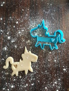 Image of Unicorn w/ Heart Stamp Cookie Cutter