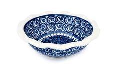Polish Pottery Pearl Small Scallop Dish Ceramika Artystyczna http://www.amazon.com/dp/B003TLA110/ref=cm_sw_r_pi_dp_DJN-ub1XK8MFP