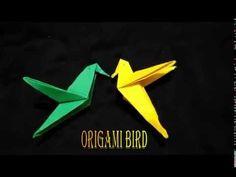Origami bird - YouTube