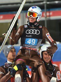 Kamil Stoch, Maciej Kot, Piotr Żyła. 4 Hills Tournament