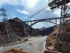Hoover Dam Mike O'Callaghan – Pat Tillman Memorial Bridge Las Vegas by garybembridge, via Flickr
