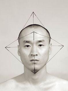 Self portraits by artist Dukno Yoonni