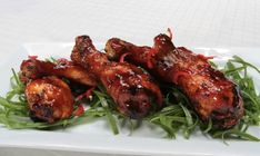 Tangy, sweet, and with a hint of fruitiness, these drumsticks are sure to be a hit!
