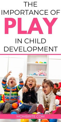 The importance of play in early childhood cannot be emphasized enough. - The importance of play in early childhood cannot be emphasized enough. The importance of play in early childhood cannot be emphasized eno. Learning Tips, Play Based Learning, Learning Through Play, Kids Learning, Physical Development In Children, Child Development Stages, Child Development Activities, Stages Of Play, Parenting Toddlers