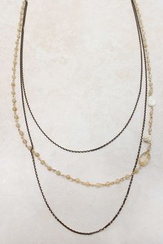 Champagne Rose Charm Necklace on Emma Stine Limited