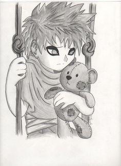 Baby Gaara by on DeviantArt Naruto Gaara, Anime Naruto, Gara Naruto, Naruto Cute, Naruto Shippuden Anime, Sakura Kakashi, Naruto Drawings, Naruto Sketch, Anime Sketch