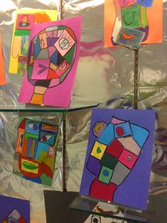 Another project in my big Art History unit with my students is finally all displayed and ready to be shared! The two above were chosen fo...