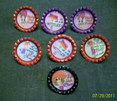 Red Hatter Pins