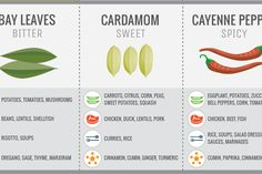 Seasoning with spices can be intimidating if you're not familiar with it but handily a new set of infographics summarise all the rules you need to know.