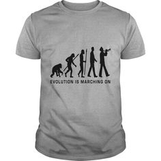 evolution marching band trumpet player_112015_b_1c Womens TShirts