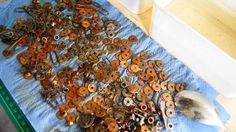france papillon: From shiny to rusty http://www.france-papillon.com/2013/12/from-shiny-to-rusty.html Rusting Recipe