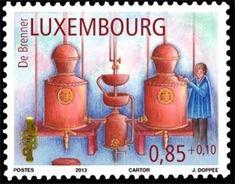 Sello: Distiller (Luxemburgo) (Trades of Yesteryear) Mi:LU 1993,Yt:LU 1937