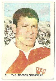 figurita suplemento chapitas 1970 - chumpitaz - peru