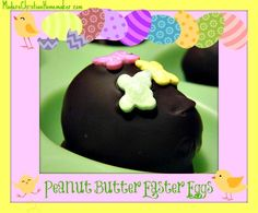 Start a New Tradition with these Peanut Butter Easter Eggs. They are very yummy, no preservatives and easy to make. Even the kiddos will love these.