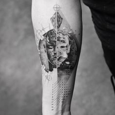 Bad or Good, tattoo by Balazs Bercsenyi
