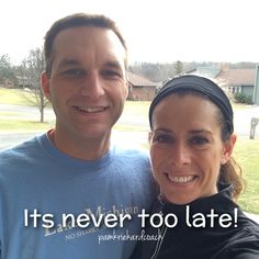 My husband and I have been together for 26 years. In all that time, I've always exercised. He's always been built tall and thin, and could eat whatever he wanted! But this year, he decided to join me. Wow! I am seeing some great transformations! Whether you are a lifelong fitness junkie, or a newbie-it's never too late to make and see changes in your health! #itsnevertoolatetostart #getresukts #strongereveryday #faithfulfitness #doingthistogether