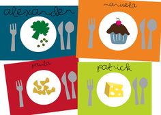 Food And Nutrition Week, Have The Kids Make A Place Mat That Features A  Balanced