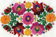 Grab your Discounted Cross Stitch Full Range Embroidery Starter Kit! Specification: size Embroidery Premium Set: Full range of embroidery starter kit with all the tools you need to embroider; Mexican Embroidery, Hungarian Embroidery, Folk Embroidery, Learn Embroidery, Chain Stitch Embroidery, Embroidery Stitches, Embroidery Designs, Stitch Head, Bordado Floral