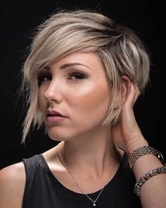Short layered haircuts are the best back it comes to giving some appearance and arrangement to a abbreviate hair. Lots of women all about the apple chop off their beard to accept a beautiful and avant-garde abbreviate crew so it is the best trending attending for women; accustomed & bouncing abbreviate hairstyles.