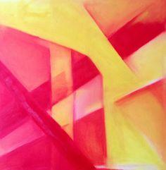 """""""riemergere """" olio su tela 80x80 autrice:Roberta Scalfo #itesoricoloniali #quadri #tela #olio #dipinti #reggioemilia"""