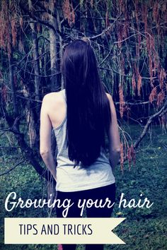 The best tips and tricks to help you grow your hair long, gorgeous, and healthy! Check out mostlymorgan.com!