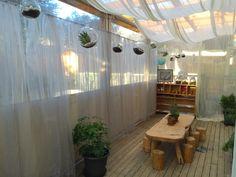 Childcare - 4 Kids & Whanau Glenfield Curtains outdoors