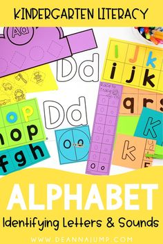 These kindergarten alphabet activities are a great way to get students practicing their letters and sounds. Use them at the beginning of the year, or all throughout kindergarten to reinforce letter recognition.