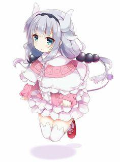 Kanna Kamui - Kobayashi-san Chi no Maid Dragon - Mobile Wallpaper - Zerochan Anime Image Board Anime Chibi, Kawaii Anime, Anime Plus, Lolis Anime, Loli Kawaii, Chica Anime Manga, Kawaii Art, Cute Anime Pics, Anime Girl Cute