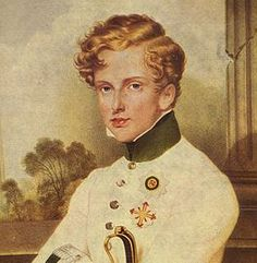 Napoleon II, only legitmate son of Napoleon and successor to the throne. As a child he was called l'Aiglon (eaglet), in later life he was known as the Duke of Reichstadt.