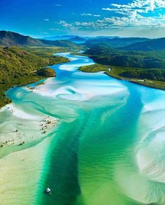 A scenic flight over Australia's Great Barrier Reef and spectacular Whitehaven Beach is the best way to experience a Whitsunday Islands tour. Airlie Beach, Australia Photos, Australia Travel, Visit Australia, Western Australia, Coast Australia, Sydney Australia, Queensland Australien, Whitehaven Beach Australia