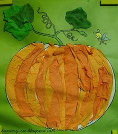 A tak se bavit ...: Podzimní práce Antosia Thanksgiving Arts And Crafts, Autumn Crafts, Halloween Crafts For Kids, Halloween Kids, Halloween Pumpkins, Pumpkin Art, Pumpkin Crafts, Fruit Crafts, October Crafts