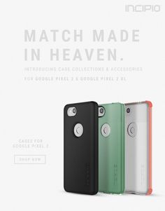 New Case Collection for Google Pixel 2
