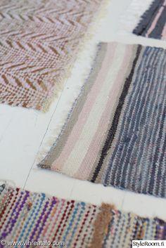 räsymatto Interior Decorating, Interior Design, Cottage Style, Interior Inspiration, Mid-century Modern, Vintage Inspired, Weaving, Rag Rugs, Colours