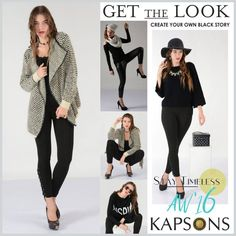 The best stories are told in black!! This season, timeless is the way to be! Shop for our latest black collection, curated just for you from your nearest KAPSONS store. #Kapsons #StayTimeless — with Îñdêr ßãjwã.