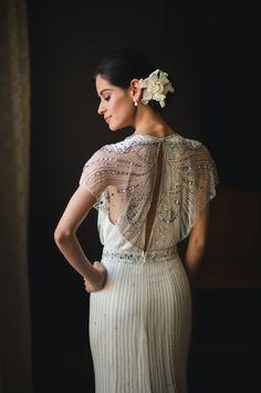 Sujeidy wearing the Nicole gown #JennyPackhambride www.jennypackham.com