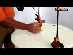 Sega a tazza su vetroresina: tutorial #segatazz #segatazzacmt #sega #vetroresina Scopri il corretto funzionamento di una sega a tazza su plexiglass!