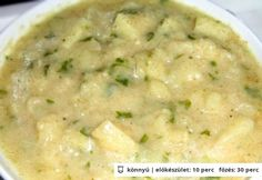 Hungarian Recipes, Hungarian Food, Cheeseburger Chowder, Recipies, Food And Drink, Soup, Dishes, Vegetables, Foods