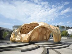 ICD:ITKE Research Pavilion / Oliver David Krieg, Boyan Mihaylov