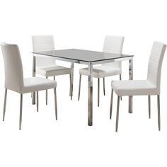 InRoom Designs Rectangle Dining Table & Reviews | Wayfair